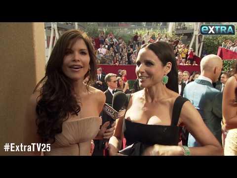 'Extra' Vault: Lauren Sanchez Interviews Al Pacino and Julia Louis-Dreyfus at 2010 Emmys