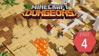 "Minecraft Dungeons: Playthrough Part 4 of 9 ""Cacti Canyon"""