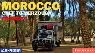 Overlanding from Chefchaouen to the Merzouga desert