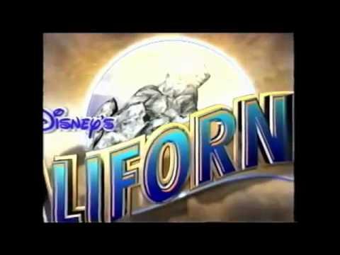 Disney's California Adventure Theme Park Commercial (Slowed Down)