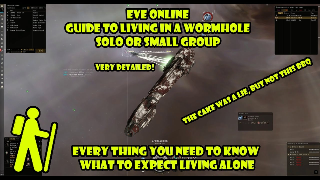 Eve Online - Guide Living in a Wormhole solo/small group