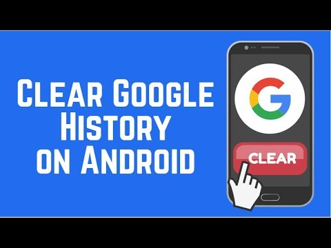 How to clear search history on google on my phone