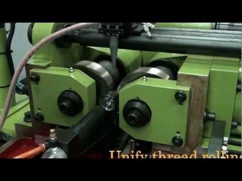 UNIFY thread rolling- UM-35H thread rolling machine - customized tool examples...(KIM UNION)