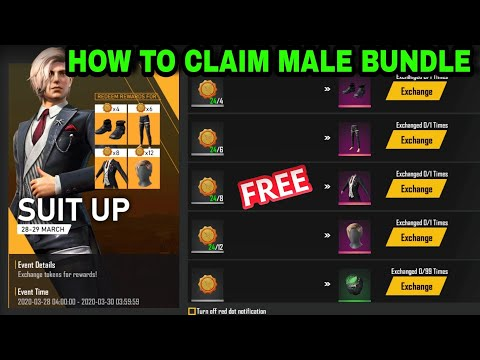 How To Claim Male Bundle In Free Fire, New Update Tamil, GameTech Tamilan