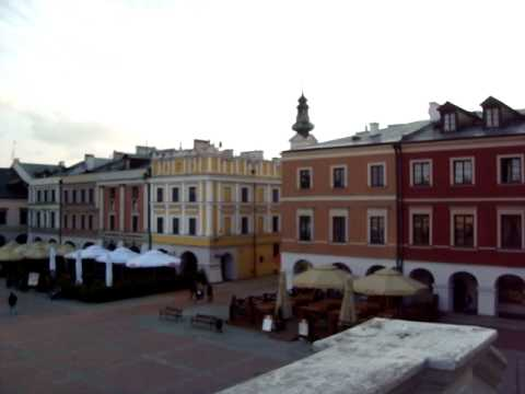 Fantastically area of the medieval town of  Zamość Զամոստիա
