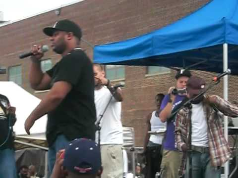 Group Home  Supa Star and Speak Ya Clout   at Brooklyn Hip Hop Festival 2010