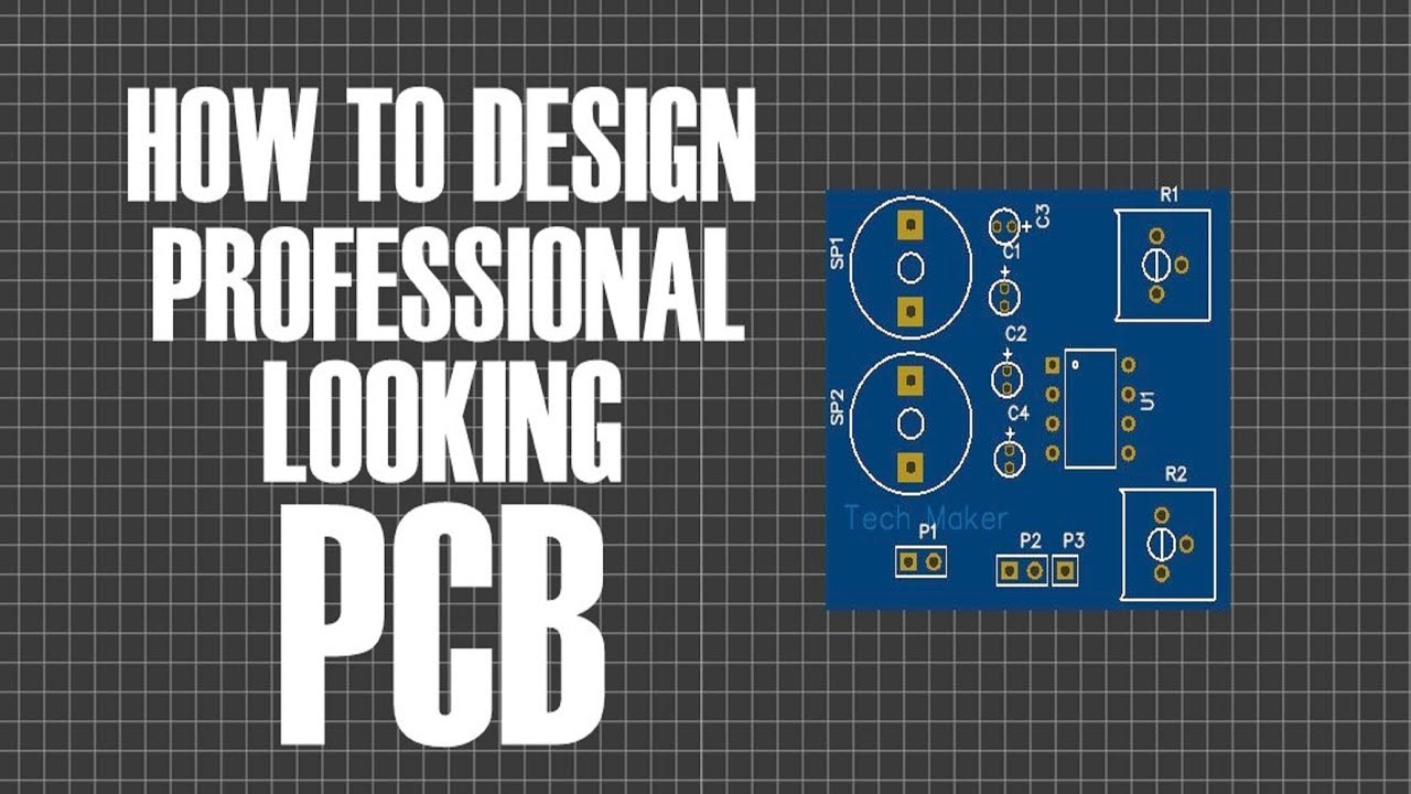 How To Design Pcb Easily In 10 Minutes Youtube Board Prototype Buy Circuit Pcbpcb Prototypepcb Maker