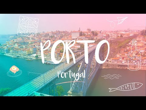 PORTO & DOURO VALLEY - AWESOME CITY l Travel - 4K UHD