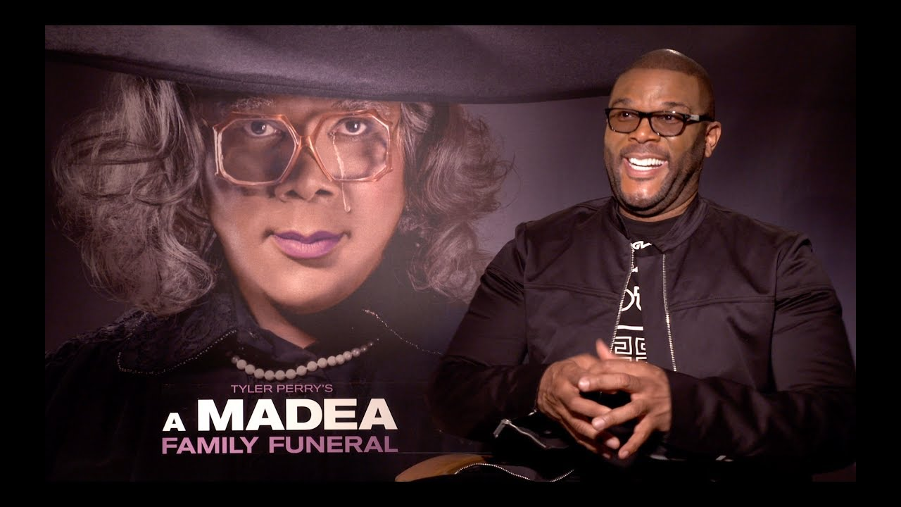Tyler Perry Does Madea Impression, Talks Killing Madea and MADEA FAMILY FUNERAL