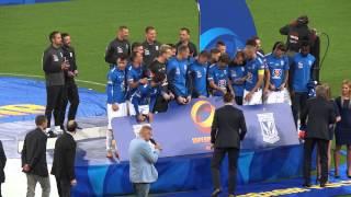Lech Poznań zdobywa SUPERPUCHAR 2015 Ceremonia (10.07.2015)