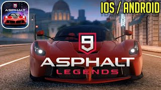 ASPHALT 9- LEGENDS -GAMEPLAY IOS/ANDROID #1