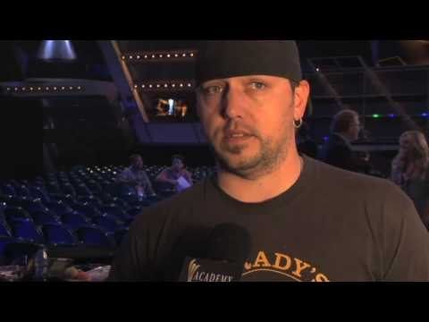 Academy of Country Music Awards - ACMA 45  Jason Aldean Rehearsal Interview
