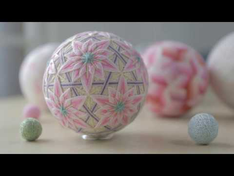Decorative Silk Thread Balls I Sanuki Kagari Temari