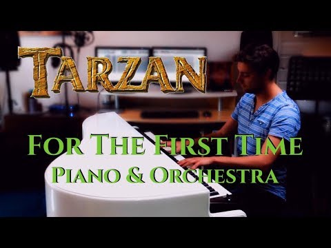 Disney's Tarzan - For The First Time - Instrumental (Piano & Orchestra)