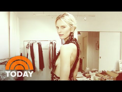 Fashion Week: Marchesa Behind The Scenes With Karolina Kurkova | TODAY