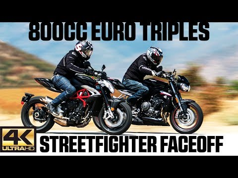 800cc Euro Triples Streetfighter Faceoff | 4K