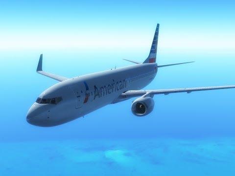 Infinite Flight Global - 738 Flightlapse: AA2099 Miami[KMIA] - St.Maarten[TNCM]   Amazing Sunset