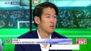 After Foot du jeudi 03/08 – Partie 3/4 - Ligue 1: le PSG officialise l'arrivée de Neymar