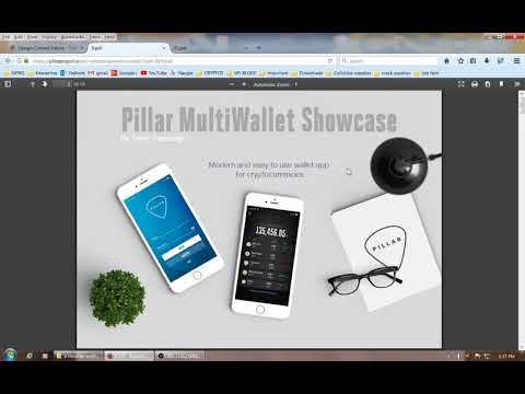 Pillar Project Open Source Wallet contest entries