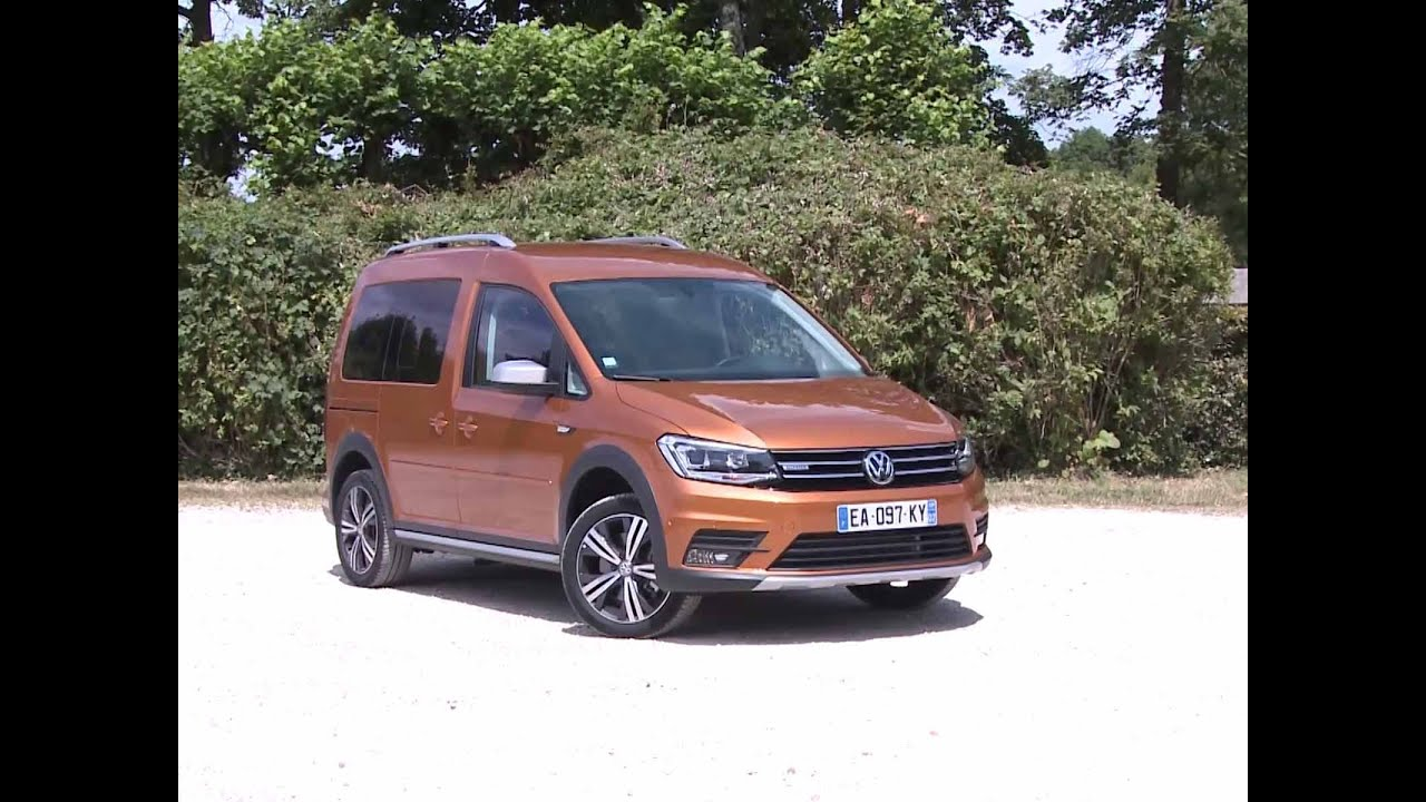essai volkswagen caddy alltrack 1 4 tsi 125 bvm6 2016 youtube. Black Bedroom Furniture Sets. Home Design Ideas