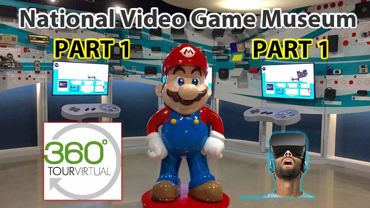 bc6e418e5af 360 National Video Game Museum VR Tour Part 1 Frisco Texas USA - YouTube