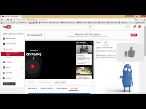 YouTube Canlı Yayın Nasıl Yapılır #17