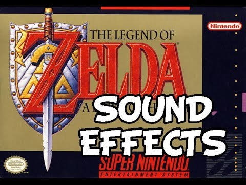 Legend of Zelda - A Link to the Past - Sound Effects