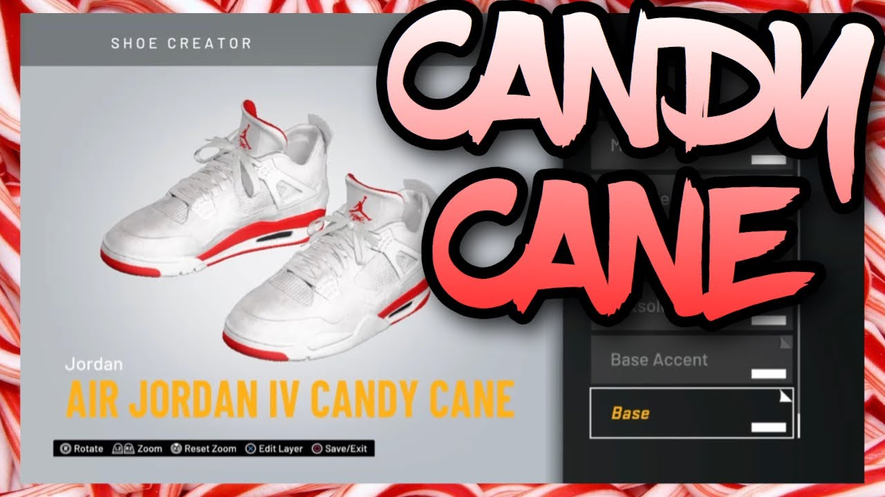 NBA 2K20 Shoe Creator - Air Jordan 4
