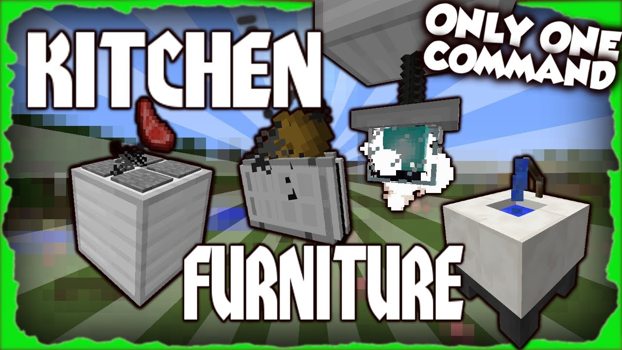 Kitchen Furniture Minecraft 1112