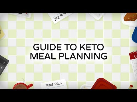 Keto Cooking: Meal Planning/Batch Cooking