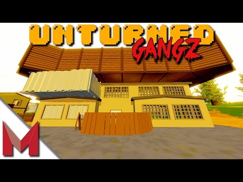 SLB Apartment Building! -=- UNTURNED GANGZ GAMEPLAY -=- S2E20