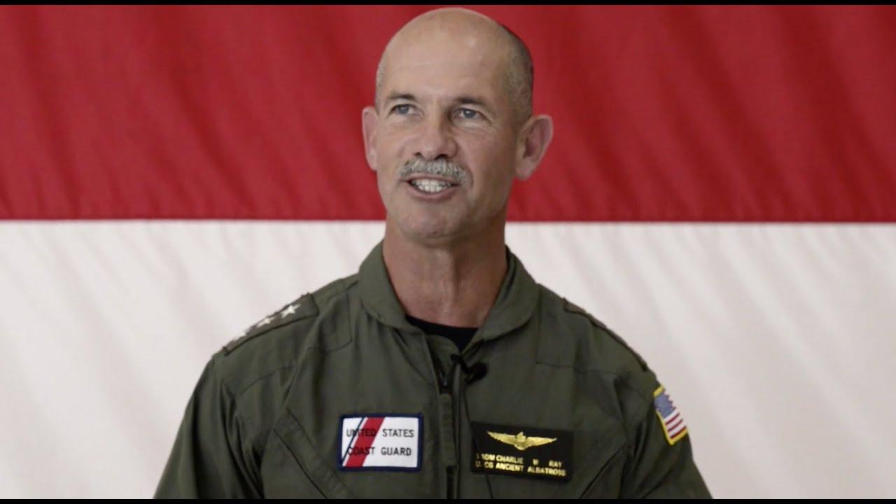 Coast Guard Names New Ancient Albatross Vice Adm Charles Ray