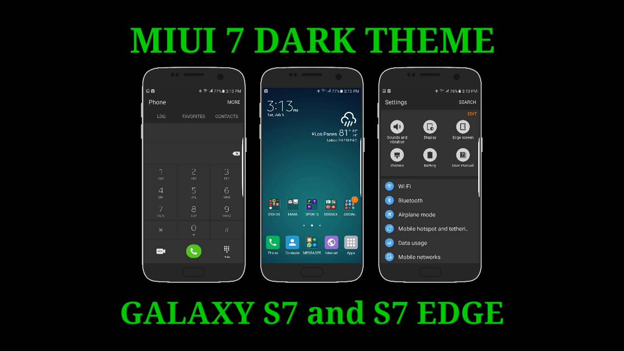 how to add languages for galaxay s7 edge