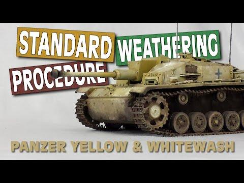 STUG F/8 | Standard Weathering Procedure  (Full Weathering Tutorial)