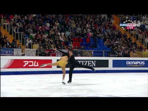 Tessa Virtue & Scott Moir   2011 Worlds FD (British Eurosport HD)