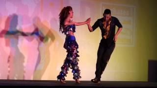 Видео: World Bachata Masters 2013 - Daniel Y Desirée improvisation