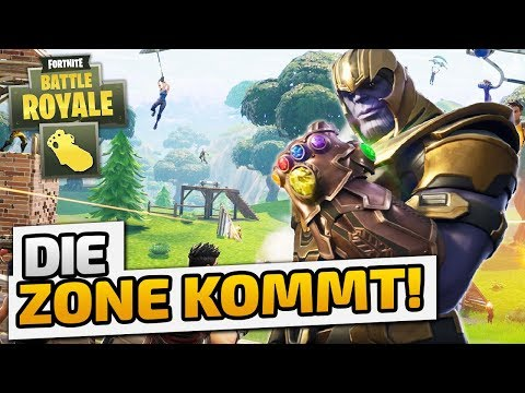 Die Zone kommt! (Livestream) - ♠ Fortnite Battle Royale Infinity Gauntlet ♠ - Dhalucard