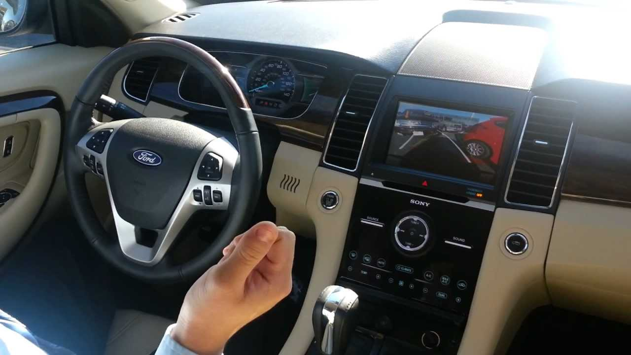 Packey Webb Ford >> Ford Active Park Assist - 2013 Ford Taurus - YouTube