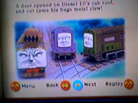 Diesel Ten Means Trouble Storybook YouTube