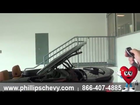Phillips Chevrolet – 2016 Chevy Camaro Convertible - Remove Top w/ Key Fob - Chicago Car Dealership