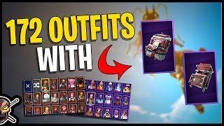 Care Package & Gurney Gear on 172 Outfits - Fortnite Cosmetics