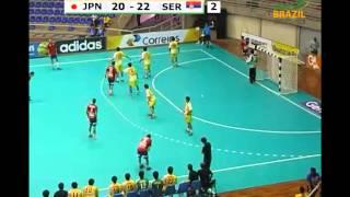 ハンドボール 世界ジュニア JPN vs SER 2nd