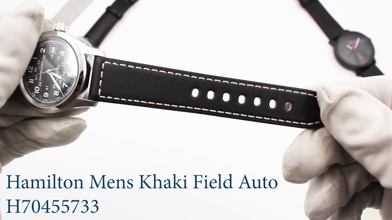 655f8a538 Hamilton Mens Khaki Field Auto - H70455733. First Class Watches
