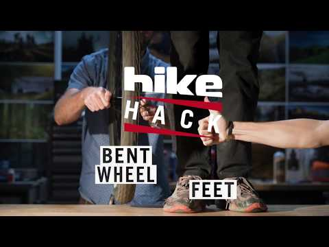 Bike Hack: Bent Wheel Field Fix