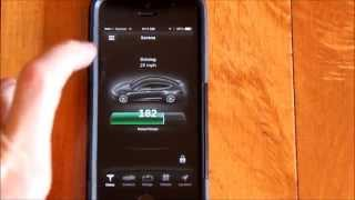 Tesla App With Real-Time Tracking of Your Car