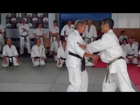 No 16 Inoue Yoshiomi Sensei at the British Aikido Association Summer School 2016