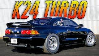 Turbo K24 MR2 Destroys EVERYTHING!