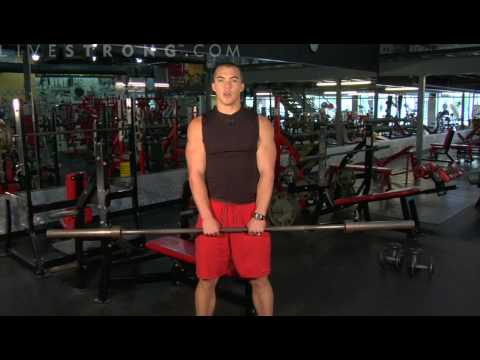 How to Do Upright Barbell Rows