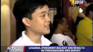 TV Patrol World - Leandro Legarda-Leviste at Kabataan Party-list Press Conference