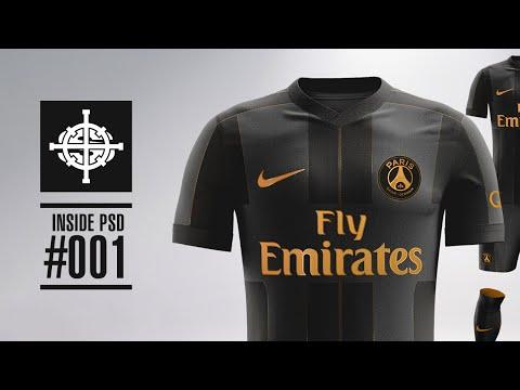 1a679d107 NIKE X BALMAIN PARIS SAINT GERMAIN KIT CONCEPT // INSIDE PSD #001 - YouTube